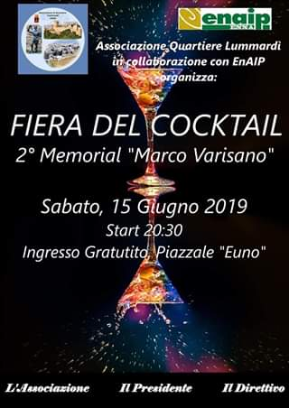 """Fiera del Cocktail - 2° Memorial Marco Varisano"""